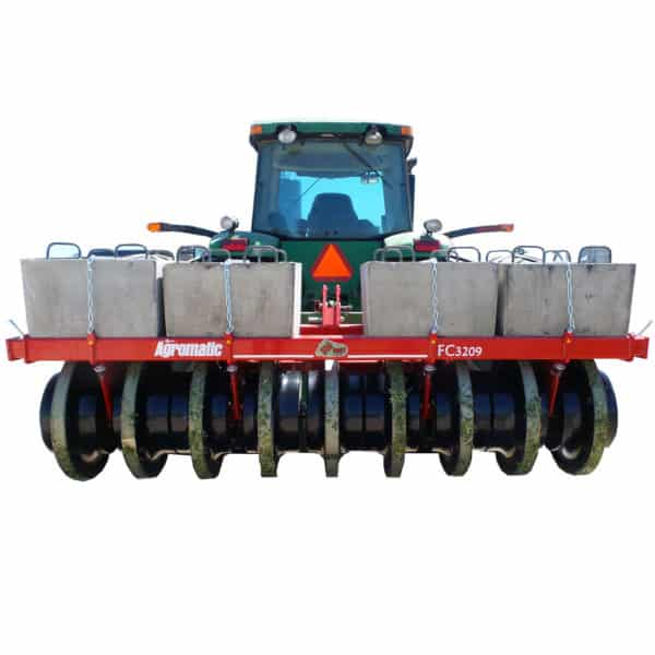 Agromatic 9 wheel Big Foot Silage Packer