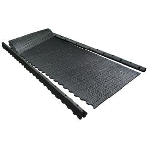 KRAIBURG maxiBOX rubber flooring system for deep bedded stalls
