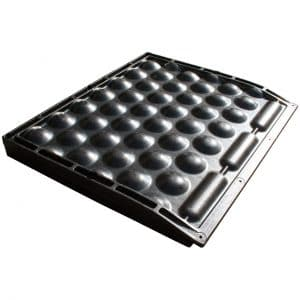 KRAIBURG POLSTA rubber stall mat for deep bedded stall