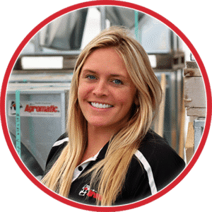 Whitney Birschbach: Agromatic inside sales.