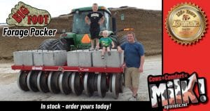 Happy Family with Agromatic Big Foot Silage Packer