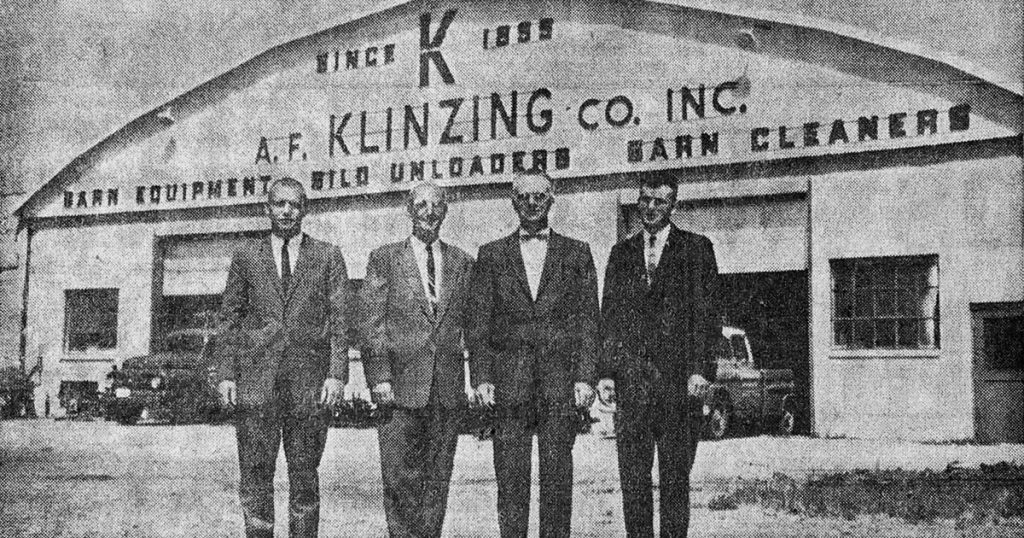 A. F. Klinzing Co. at the Fond du Lac County Skyport hanger.