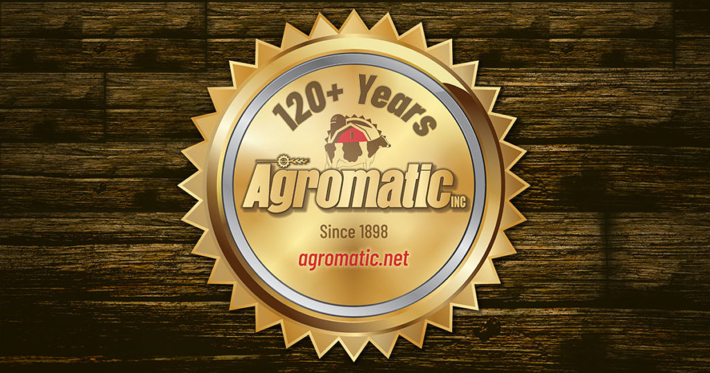 120+ Years of Agromatic Inc., the World Leader in Cow Comfort!