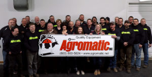 Agromatic staff group picture December 15th, 2019.
