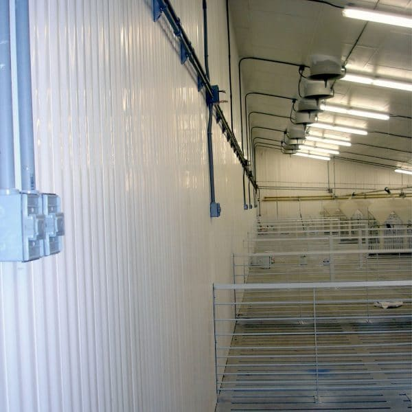 Facility built with Agromatic concrete wall forms